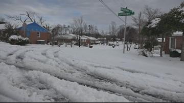 Greensboro neighborhood hit with tornado, hurricane, tropical storm and snow in same year