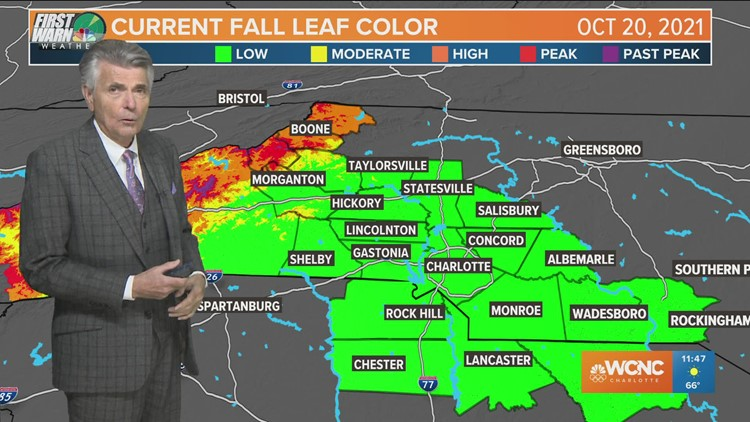 FORECAST: Sunny skies and pleasant across the Carolinas