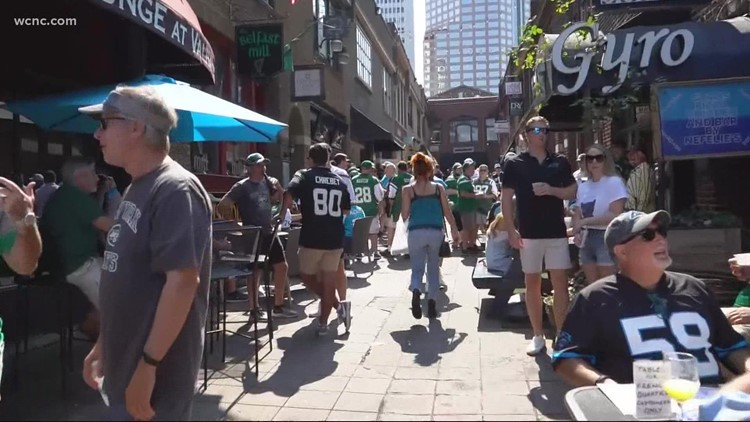 'I can't emphasize how much these events mean to us' | Uptown businesses get boost from fans following Panthers' season opener