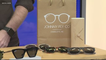 Locally designed, eco-friendly sunglasses
