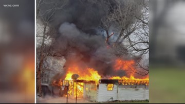 Investigation into garage fire in Gaston County continues