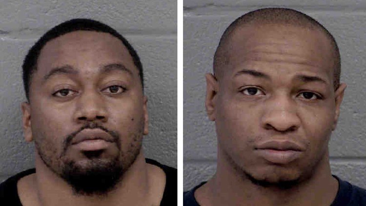 Two charged following armed robberies at Charlotte businesses