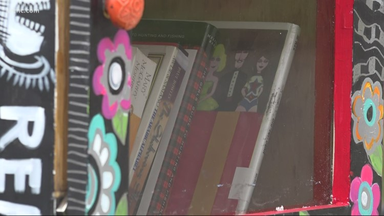 Turning the Page: International Library House vandalized