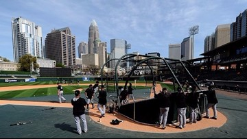 Baseball is back: Charlotte gearing up for 'Opening Knight'