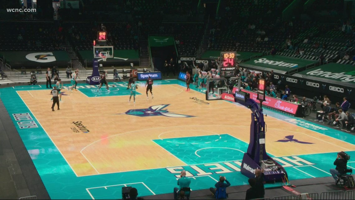 Spectrum Center ready to welcome fans back at 100% capacity
