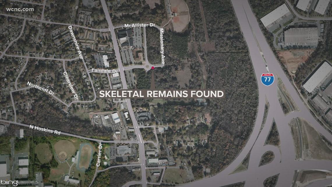 CMPD investigating skeletal remains found in Charlotte woods