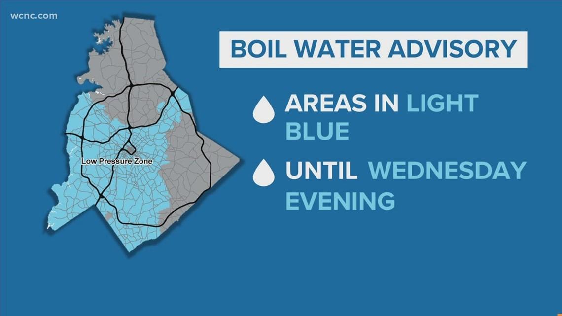 Water main break: Tests underway, boil advisory still in effect