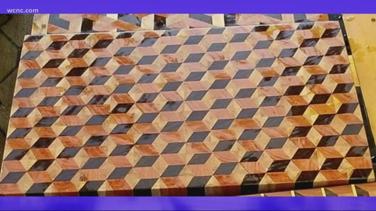 Hand crafted 3D cutting boards