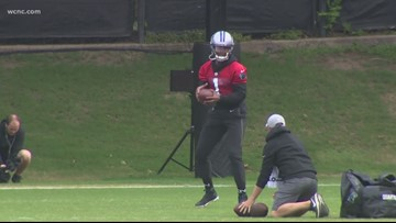 Panthers minicamp: Dissecting Cam's throwing tweaks