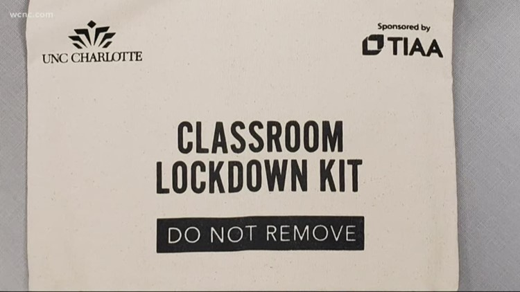 UNC Charlotte equips classrooms with lockdown kits