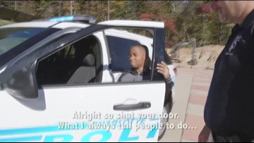 IMPACT: Kids walk in officers' shoes