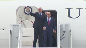 Vice President Pence comes to Charlotte for 2020 RNC kickoff event