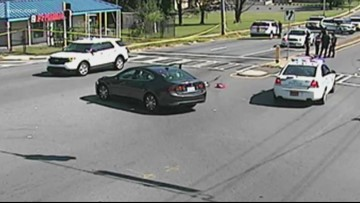 16-year-old Garinger High Student struck by car, in critical condition