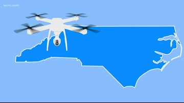 Drone carrying drugs, cell phone crashes near prison