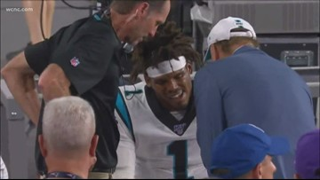 Panthers place Cam Newton on injured reserve