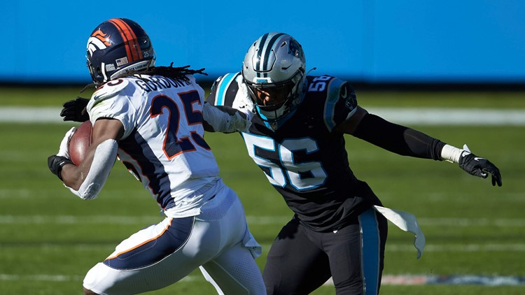 Jermaine Carter Jr., a hit at the end of Panthers season
