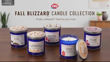 Dairy Queen welcomes fall with blizzard-scented candles