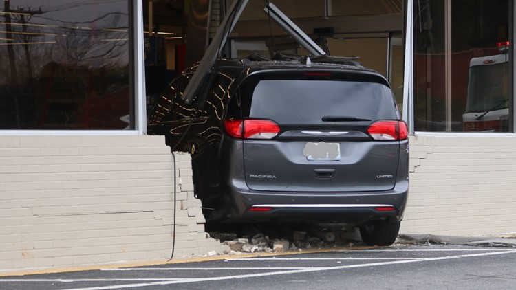 Store closed after vehicle drives into Hickory Food Lion