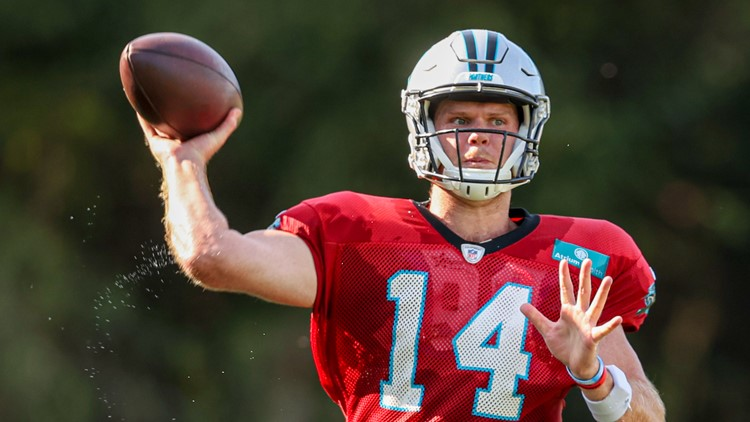 Darnold faces his replacement Wilson when Panthers host Jets