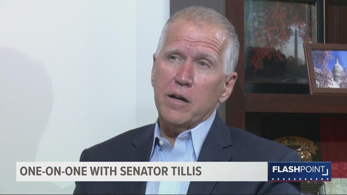 Flashpoint: Sen. Tillis take's Washington's temperature