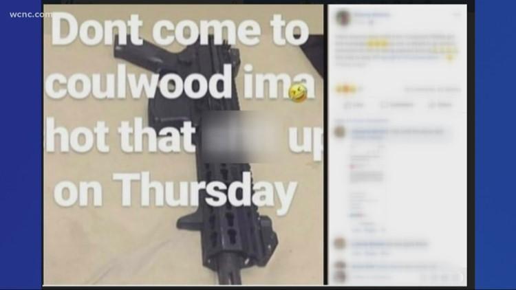 CMPD investigating social media school threat