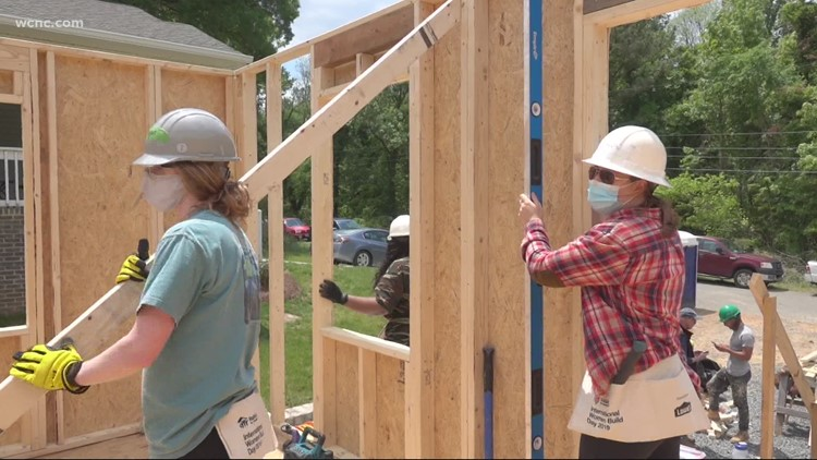 Habitat for Humanity helps Charlotte woman get closer to her dream home