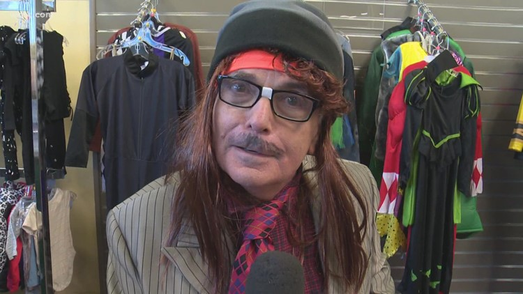Halloween costumes at Goodwill