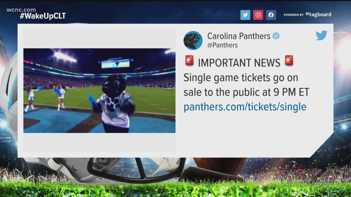 Carolina Panthers release 2021 schedule