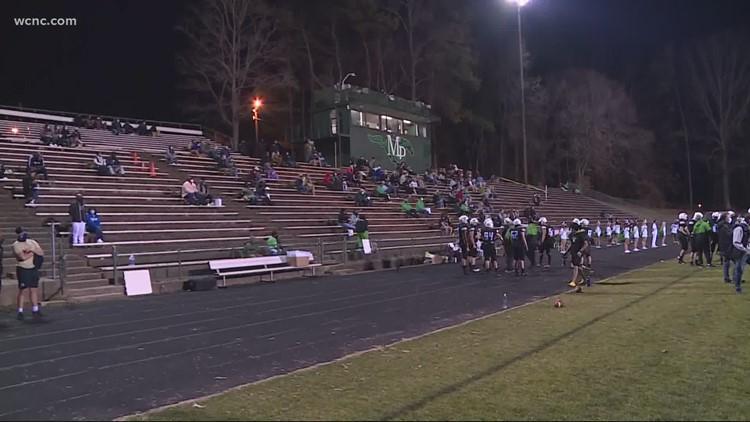 High School football begins in North Carolina