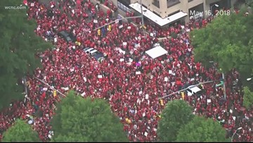 'This one is for everybody' | NC teachers prepare for second rally