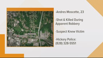 Hickory Police investigating deadly shooting