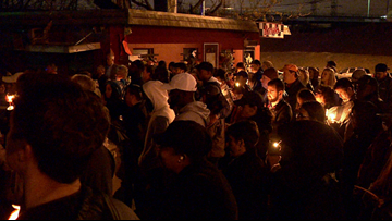 'He would be proud' | Charlotte community gathers for candlelight vigil honoring Scott Brooks