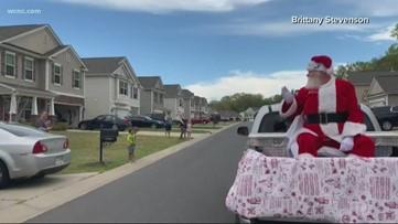Santa makes a trip to Indian Land, South Carolina