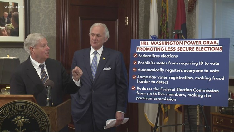 Lindsey Graham and Henry McMaster opposed to new voting bill