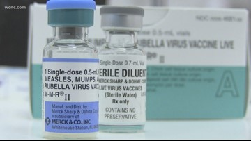 Potential measles exposure in  airports