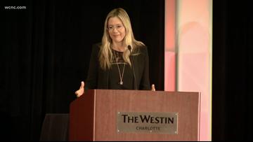 Academy Award-winning actress shines light on human trafficking problem in Charlotte
