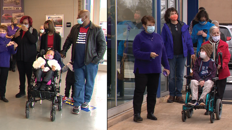 'Miracles do happen' | Two families surprised with wheelchair-accessible vans thanks to donations from the community