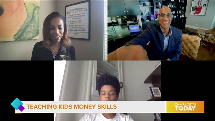 Teaching kids about the power of money