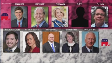 10 Republicans vying for North Carolina 9th District nomination