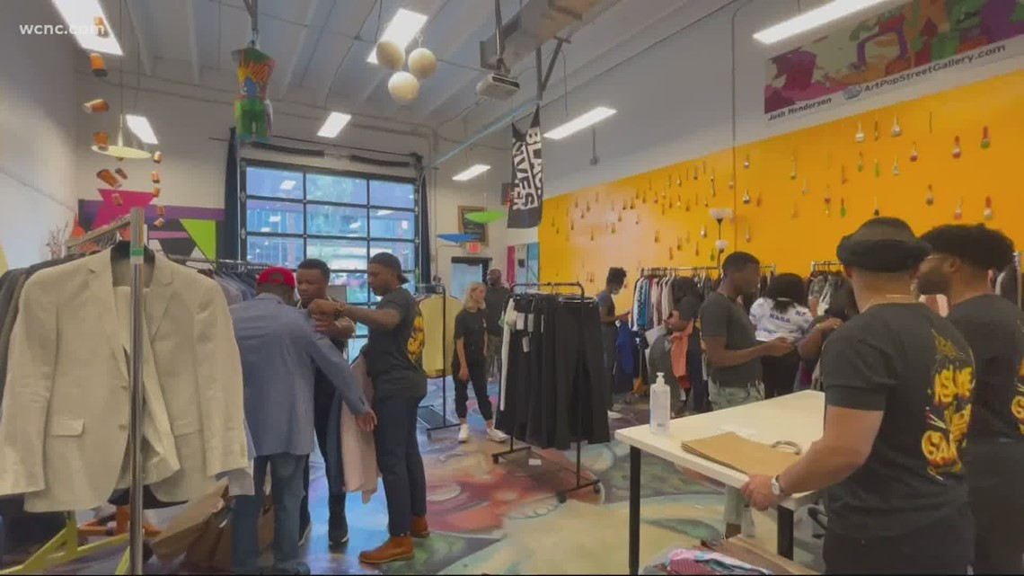 Charlotte nonprofit helping students dress for success