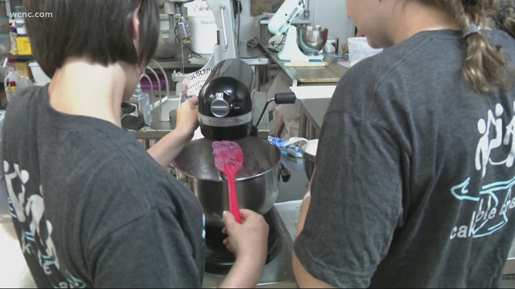 Charlotte cake shop helps young people with disabilities transition to adulthood