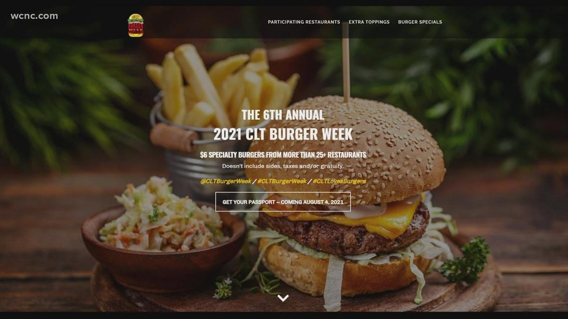 Charlotte's Burger Week to start Aug. 6