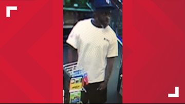 CMPD searching for man accused of robbing CVS store