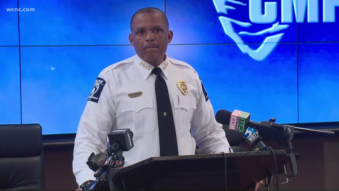 CMPD Chief Jennings reacts to Chauvin verdict