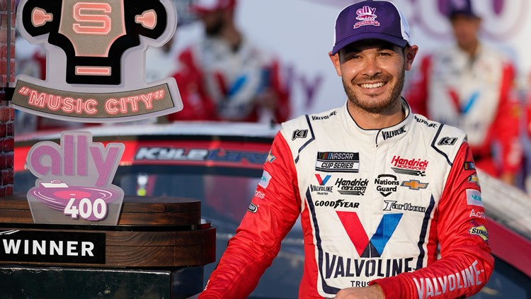 Larson romps to yet another victory for Hendrick Motorsports