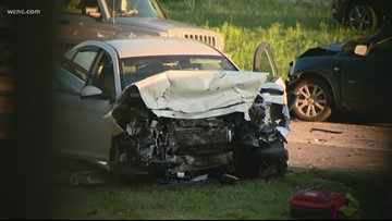 Police searching for driver involved in deadly crash on Billy Graham Parkway