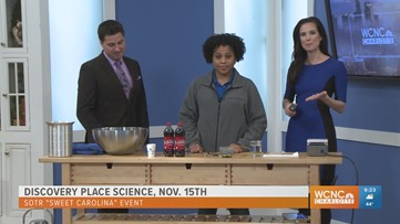 SOTR 'Sweet Carolina' event at Discovery Place on Nov. 15