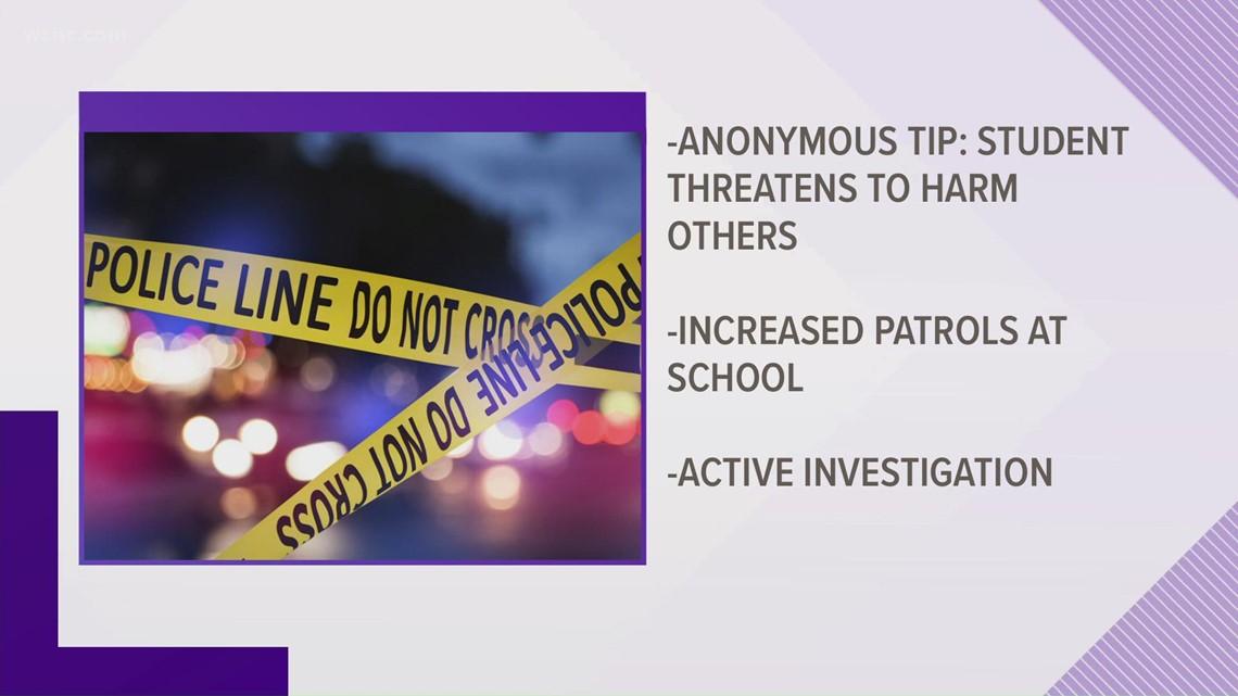 Matthews police investigating threat at Butler High School