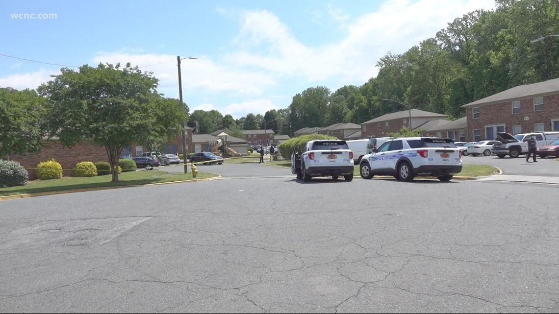One person shot after trying to break into Charlotte apartment