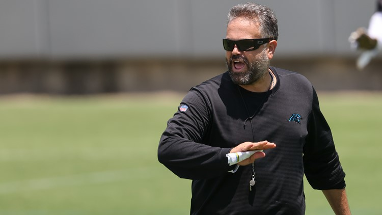'There's a lot to work on': Panthers coach Matt Rhule on training camp, year 2 improvements